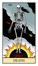 Death from the Alchemical Tarot